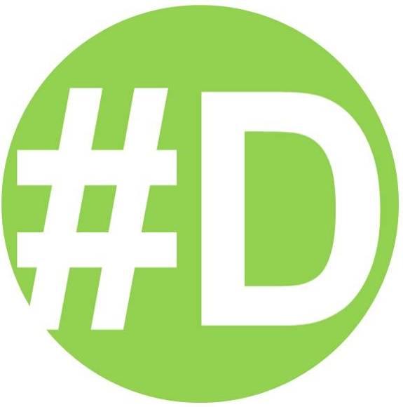 #D logo