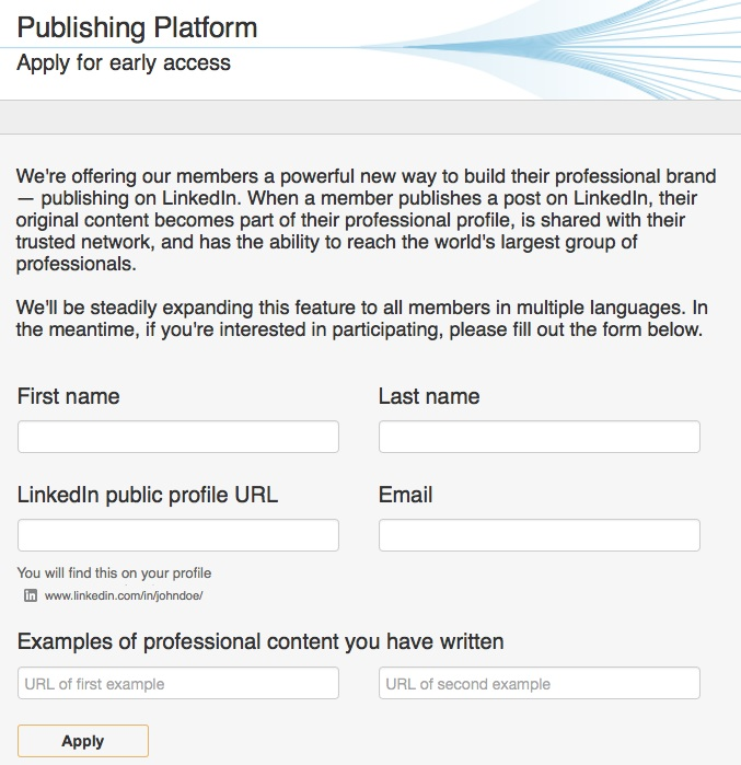 linkedin-publishing-platform-access